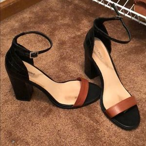 Gently worn Shoemint block heels